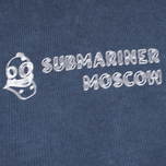 Мужская толстовка Submariner x BRANDSHOP Noise Visual Logo Blue фото- 2