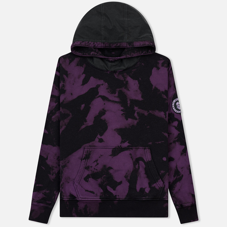 Мужская толстовка Submariner x BRANDSHOP Patch Logo Reflective Hoodie Camo Purple/Black