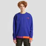 Мужская толстовка The North Face 92 Rage Fleece Crew Aztec Blue/Rage Combo фото- 2