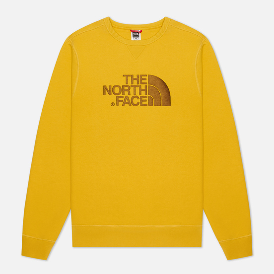 Мужская толстовка The North Face Drew Peak Crew Bamboo Yellow