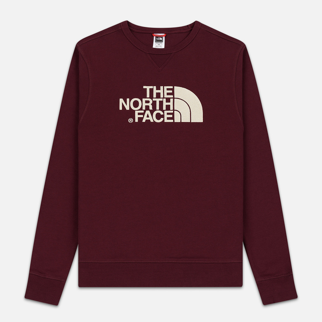 Мужская толстовка The North Face Drew Peak Crew Deep Garnet Red