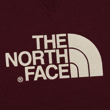 Мужская толстовка The North Face Drew Peak Crew Deep Garnet Red фото- 2