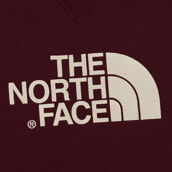 Мужская толстовка The North Face Drew Peak Crew Deep Garnet Red