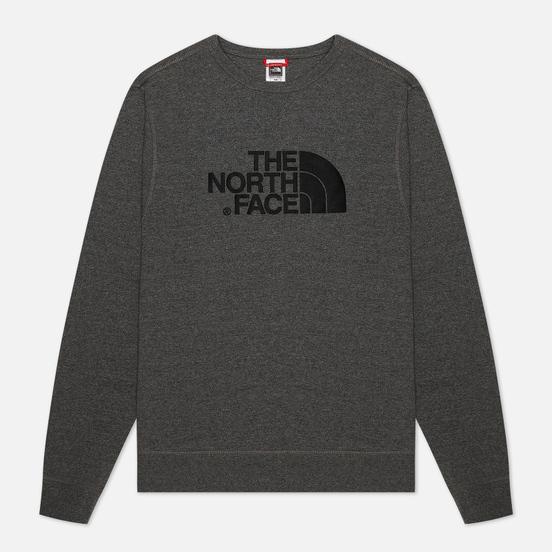 Мужская толстовка The North Face Drew Peak Crew Light TNF Medium Grey Heather