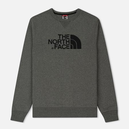 Мужская толстовка The North Face Drew Peak Crew Medium Grey Heather