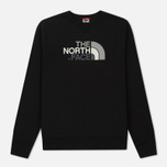 Мужская толстовка The North Face Drew Peak Crew TNF Black фото- 0