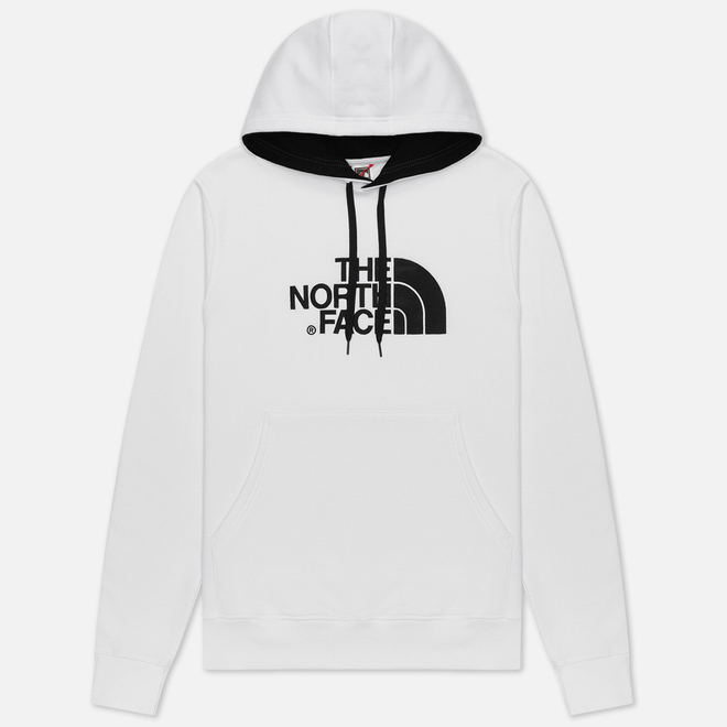 Мужская толстовка The North Face Drew Peak Hoodie TNF White/TNF Black