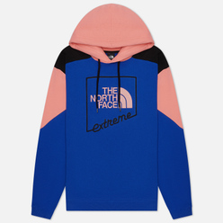 Мужская толстовка The North Face Extreme Hoodie TNF Blue/Miami Pink/TNF Black