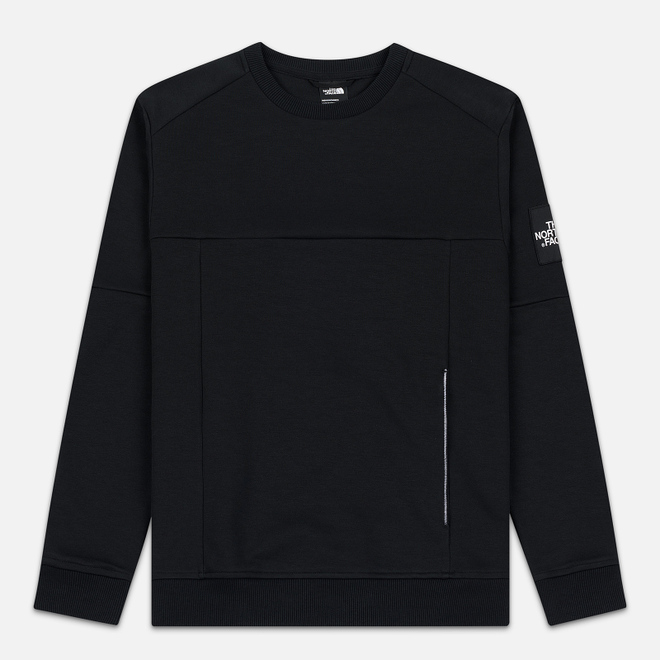Мужская толстовка The North Face Fine 2 Crew TNF Black