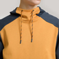 Мужская толстовка The North Face Fine Box Hoodie Citrine Yellow/Urban Navy фото - 2