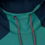 Мужская толстовка The North Face Fine Box Hoodie Porcelain Green/Blue Wing Teal фото- 1