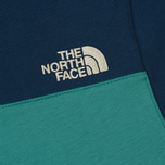 Мужская толстовка The North Face Fine Box Hoodie Porcelain Green/Blue Wing Teal фото- 5