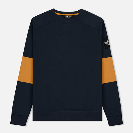 Мужская толстовка The North Face Fine Crew Light Urban Navy/Citrine Yellow