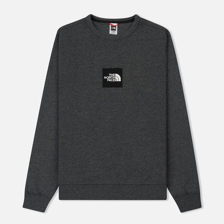 Мужская толстовка The North Face Fine Crew TNF Dark Grey Heather
