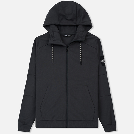 Мужская толстовка The North Face Fine Full Zip Hoodie Asphalt Grey