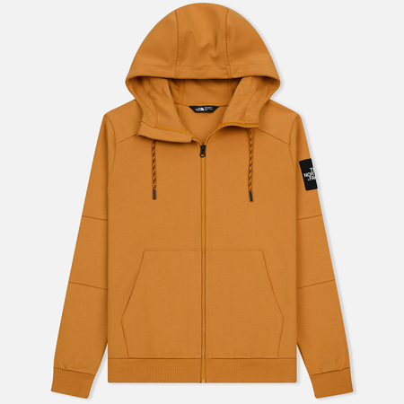 Мужская толстовка The North Face Fine Full Zip Hoodie Citrine Yellow