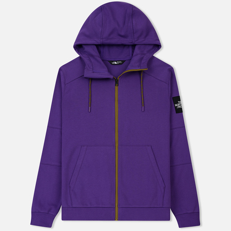 Мужская толстовка The North Face Fine Full Zip Hoodie Tillandsia Purple