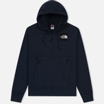 Мужская толстовка The North Face Fine Full Zip Hoodie Urban Navy фото- 0