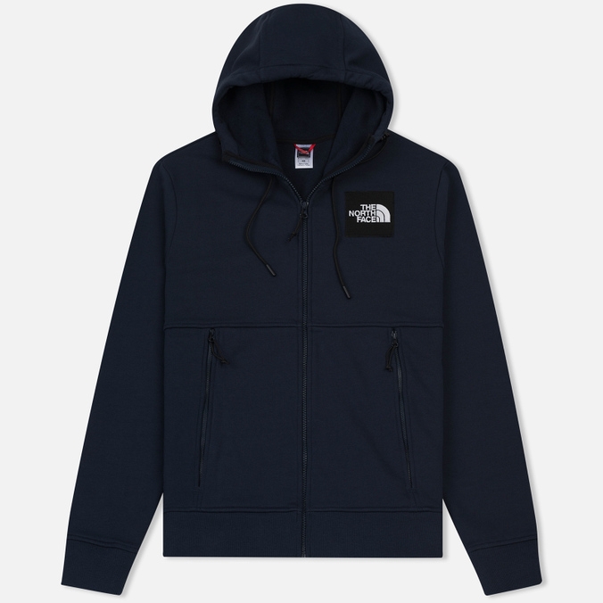 Мужская толстовка The North Face Fine Full Zip Hoodie Urban Navy