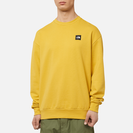 Мужская толстовка The North Face Mos Crew Bamboo Yellow