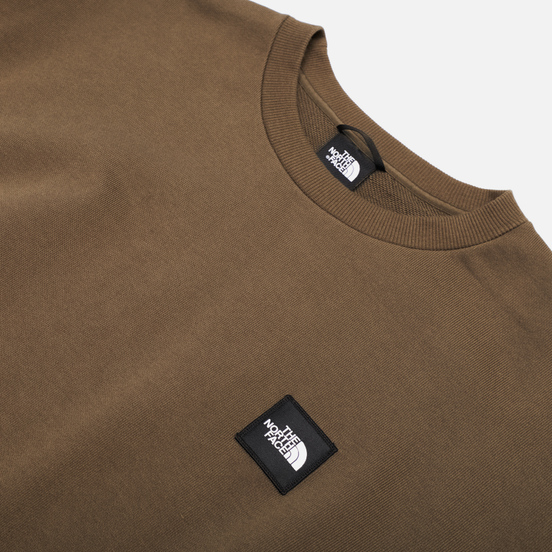 Мужская толстовка The North Face Mos Crew New Taupe Green