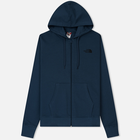 Мужская толстовка The North Face Open Gate Full Zip Hoodie Blue Wing Teal