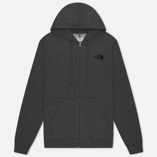 Мужская толстовка The North Face Open Gate Full Zip Hoodie TNF Medium Grey Heather