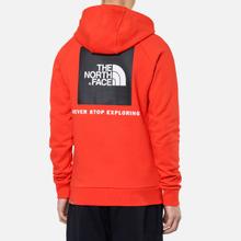 Мужская толстовка The North Face Raglan Red Box Hoodie Fiery Red фото- 3