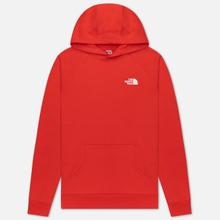 Мужская толстовка The North Face Raglan Red Box Hoodie Fiery Red фото- 0