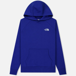 Мужская толстовка The North Face Raglan Red Box Hoodie Lapis Blue фото- 0