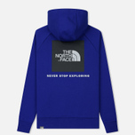 Мужская толстовка The North Face Raglan Red Box Hoodie Lapis Blue фото- 1
