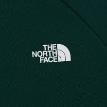 Мужская толстовка The North Face Raglan Red Box Hoodie Night Green фото- 2