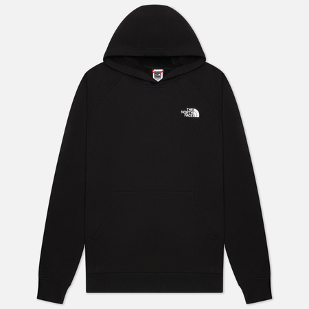 Мужская толстовка The North Face Raglan Red Box Hoodie TNF Black