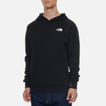 Мужская толстовка The North Face Raglan Red Box Hoodie TNF Black фото- 3