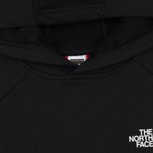 Мужская толстовка The North Face Raglan Red Box Hoodie TNF Black/TNF White фото- 1