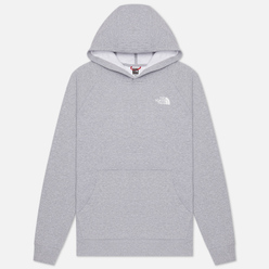 Мужская толстовка The North Face Raglan Red Box Hoodie TNF Light Gray
