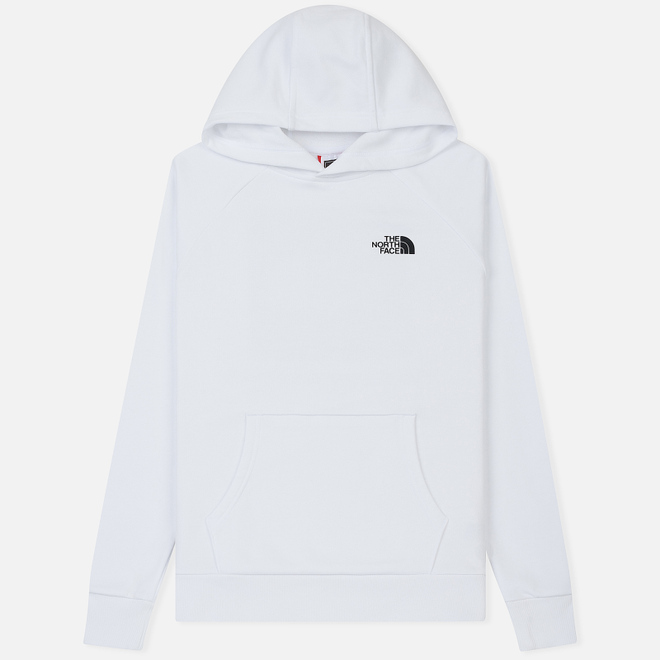 Мужская толстовка The North Face Raglan Red Box Hoodie TNF White