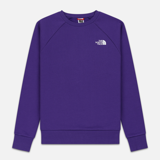 Мужская толстовка The North Face Raglan Redbox Crew Hero Purple