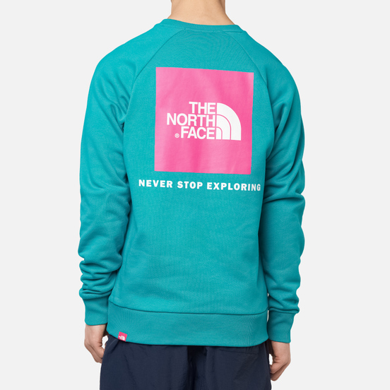 Мужская толстовка The North Face Raglan Redbox Crew Jaiden Green