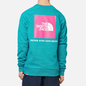 Мужская толстовка The North Face Raglan Redbox Crew Jaiden Green фото - 3