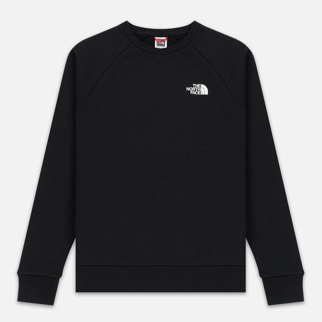 Мужская толстовка The North Face Raglan Redbox Crew TNF Black