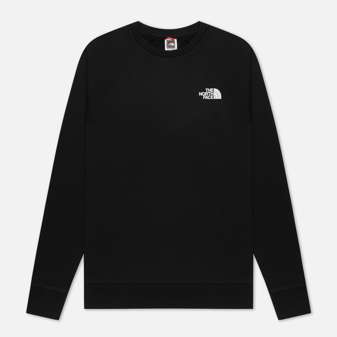 Мужская толстовка The North Face Raglan Redbox Crew TNF Black/TNF White