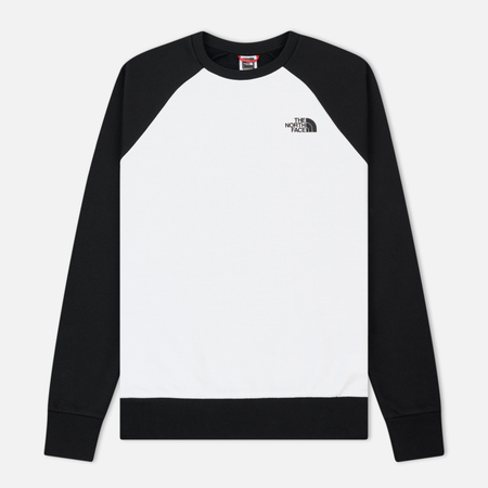 Мужская толстовка The North Face Raglan Redbox Crew TNF White/TNF Black