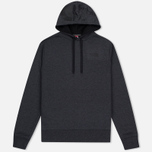Мужская толстовка The North Face Seasonal Drew Peak Hoody Dark Grey Heather фото- 0