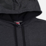 Мужская толстовка The North Face Seasonal Drew Peak Hoody Dark Grey Heather фото- 1