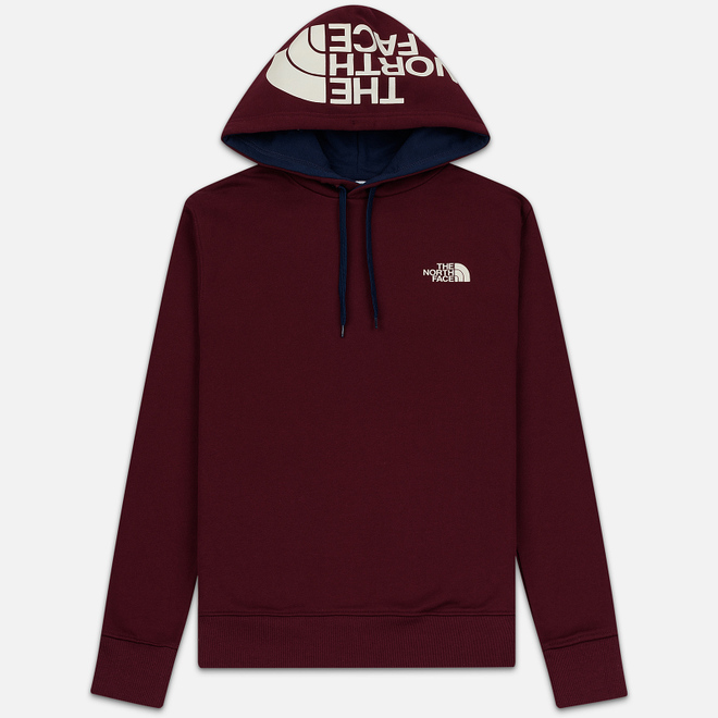 Мужская толстовка The North Face Seasonal Drew Peak Hoody Deep Garnet Red
