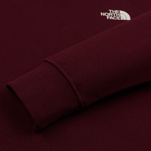 Мужская толстовка The North Face Seasonal Drew Peak Hoody Deep Garnet Red фото- 3