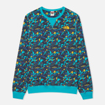 Мужская толстовка The North Face Street Fleece Turquoise/Blue/Yellow фото- 0