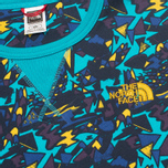 Мужская толстовка The North Face Street Fleece Turquoise/Blue/Yellow фото- 2
