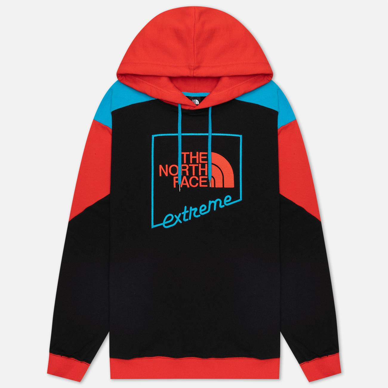 Мужская толстовка The North Face Xtreme Hoodie TNF Black/Fiery Red/Meridian Blue